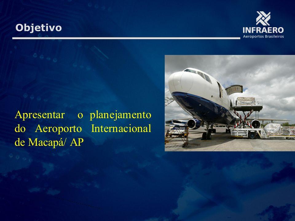 Apresentar o planejamento do Aeroporto Internacional de Macapá/ AP