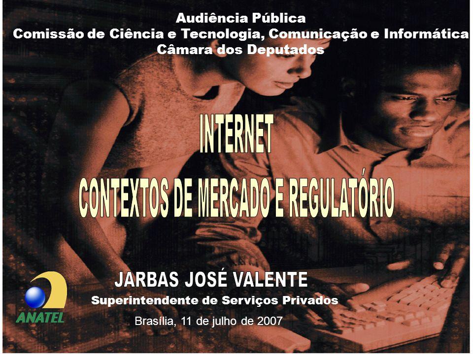 JARBAS JOSÉ VALENTE INTERNET CONTEXTOS DE MERCADO E REGULATÓRIO
