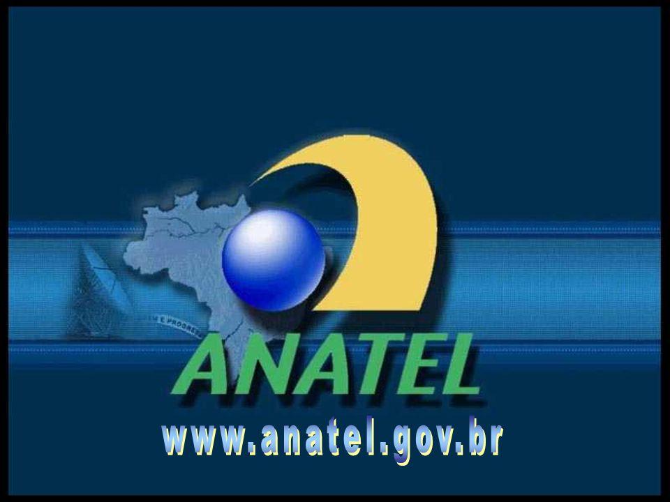 Obrigado! www.anatel.gov.br