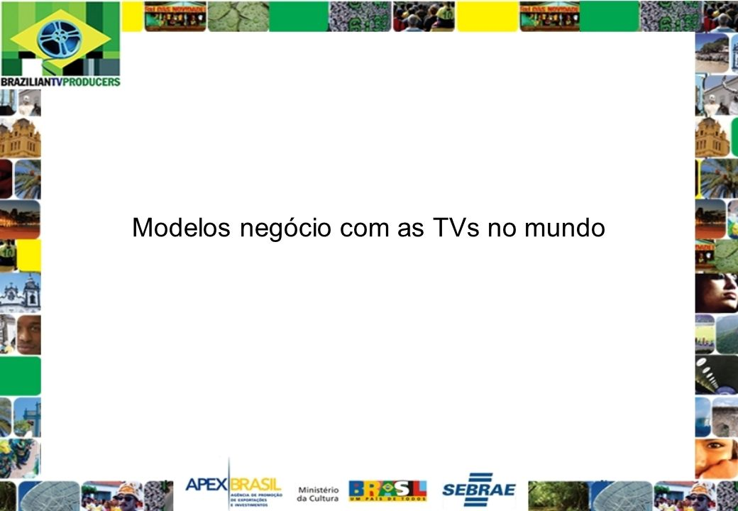 Modelos negócio com as TVs no mundo