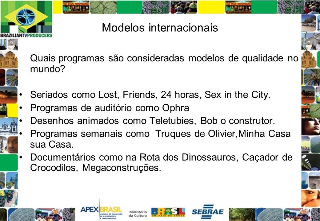 Modelos internacionais