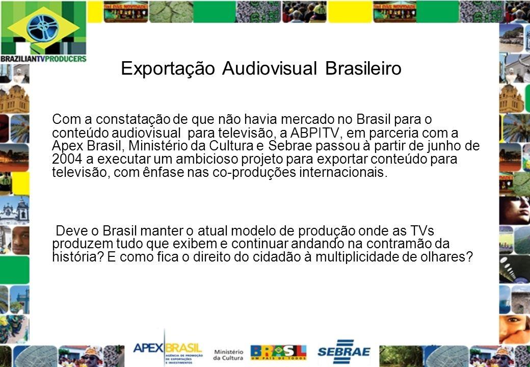 Exportação Audiovisual Brasileiro
