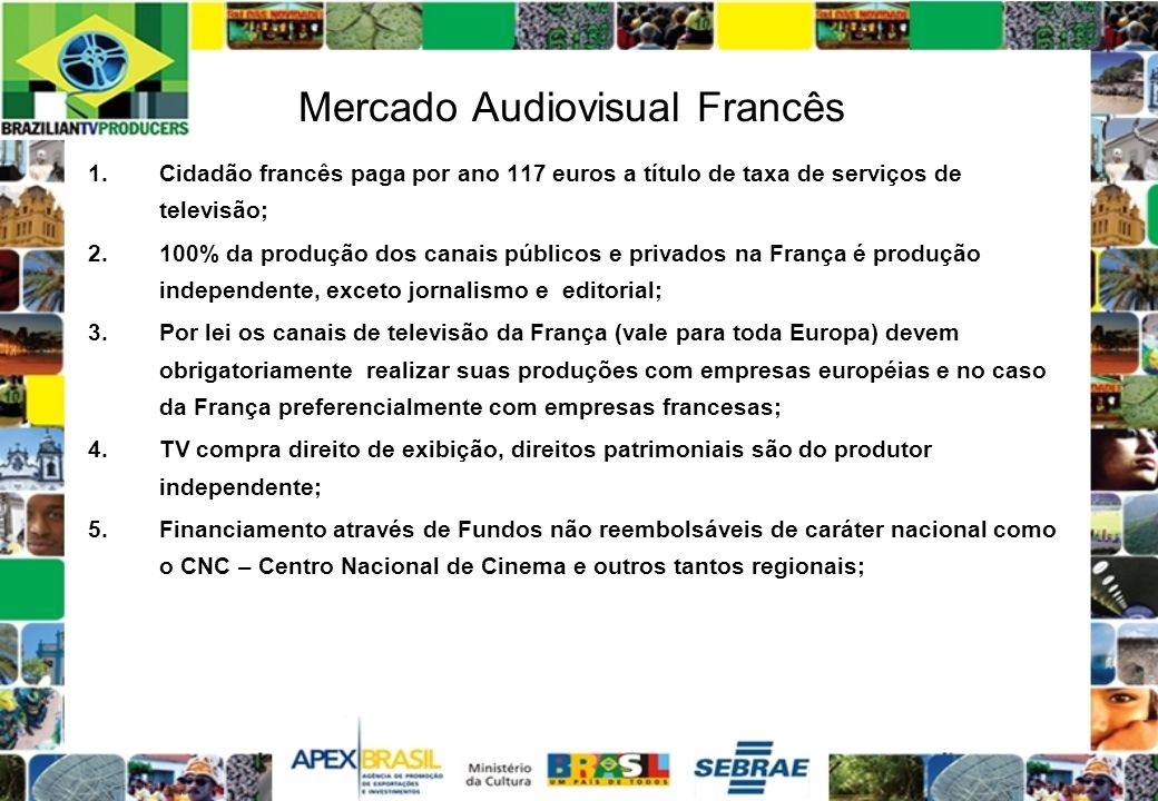 Mercado Audiovisual Francês