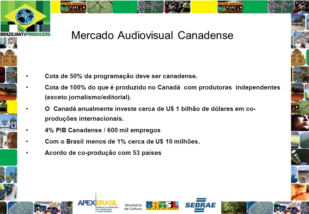 Mercado Audiovisual Canadense