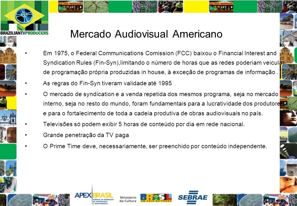 Mercado Audiovisual Americano