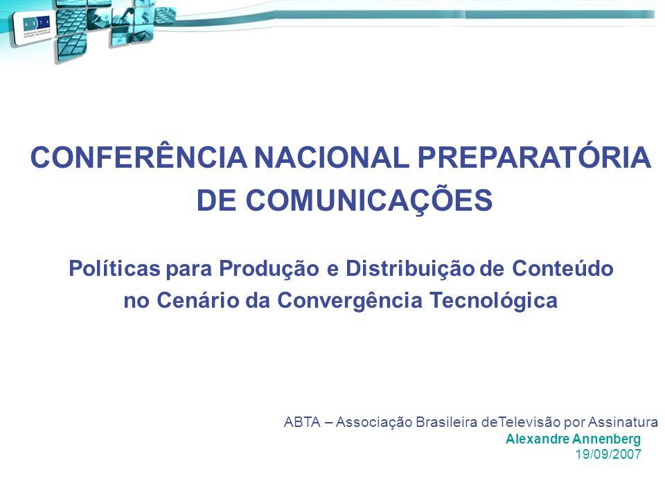 CONFERÊNCIA NACIONAL PREPARATÓRIA DE COMUNICAÇÕES