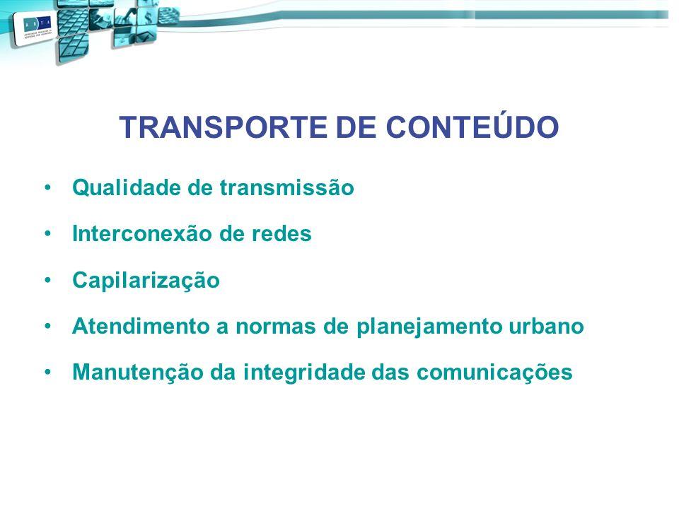 TRANSPORTE DE CONTEÚDO
