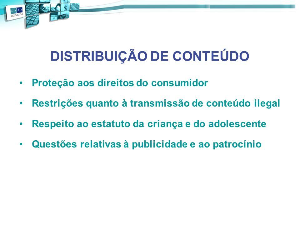 DISTRIBUIÇÃO DE CONTEÚDO