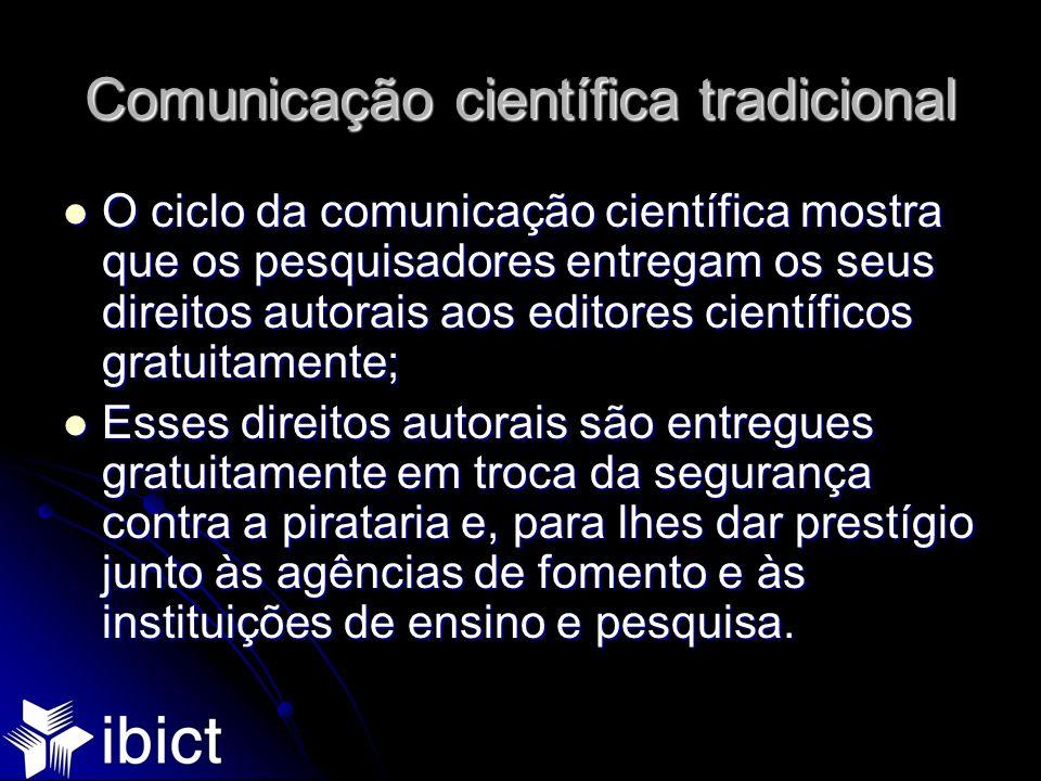 Comunicação científica tradicional