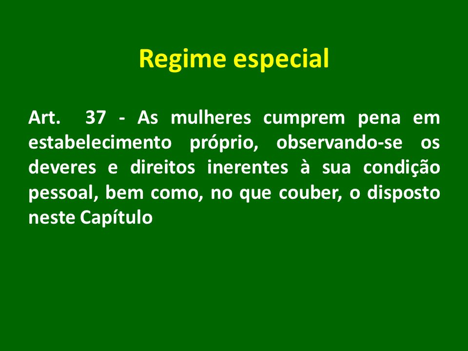 Regime especial