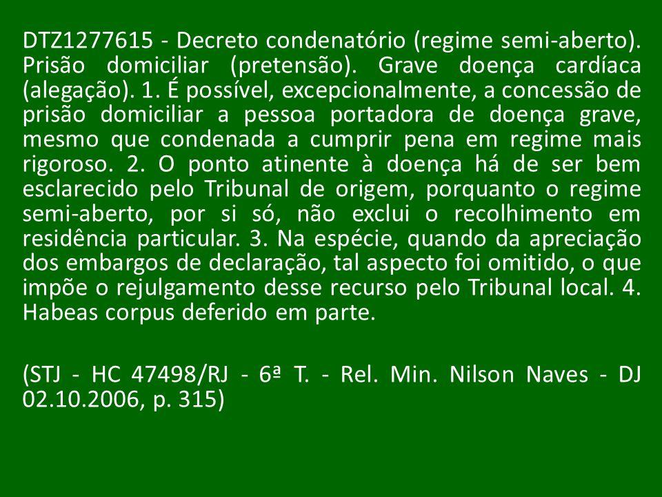 DTZ1277615 - Decreto condenatório (regime semi-aberto)
