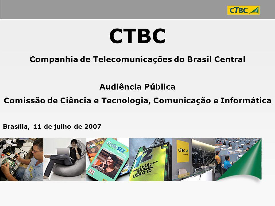 CTBC Companhia de Telecomunicações do Brasil Central Audiência Pública