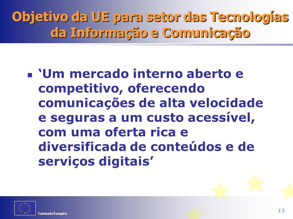 Objetivo da UE para setor das Tecnologías da Informação e Comunicação