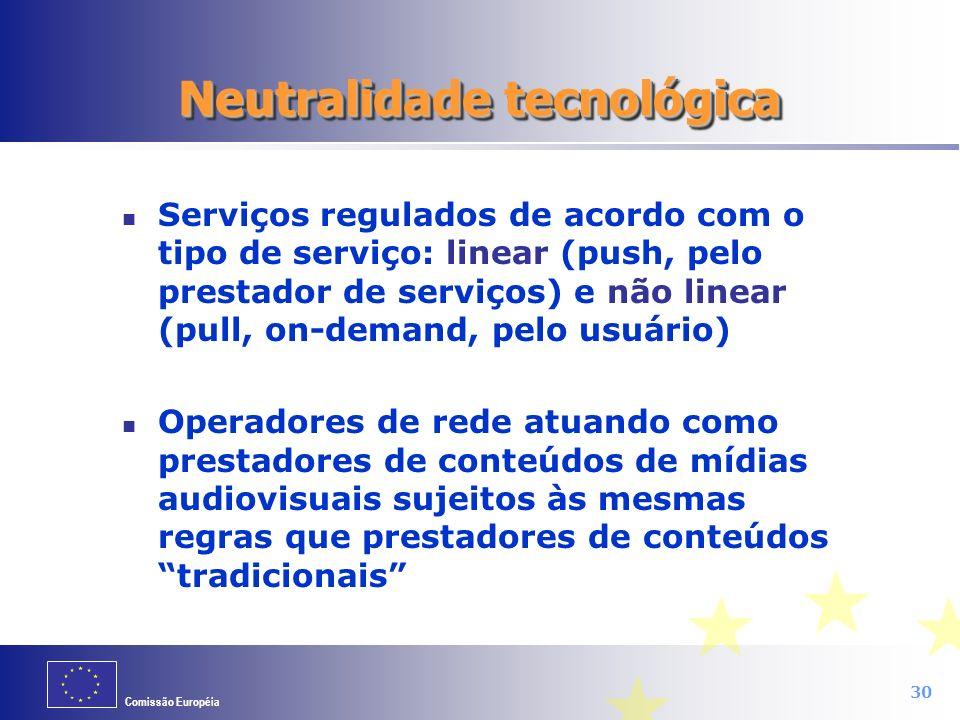 Neutralidade tecnológica