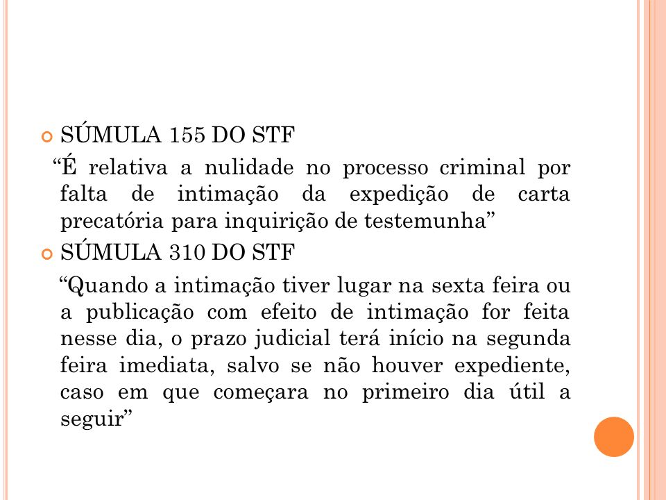 SÚMULA 155 DO STF