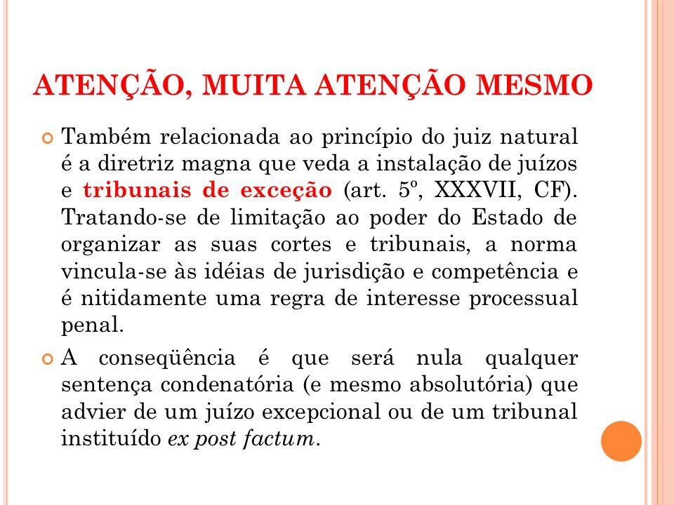 ATENÇÃO, MUITA ATENÇÃO MESMO