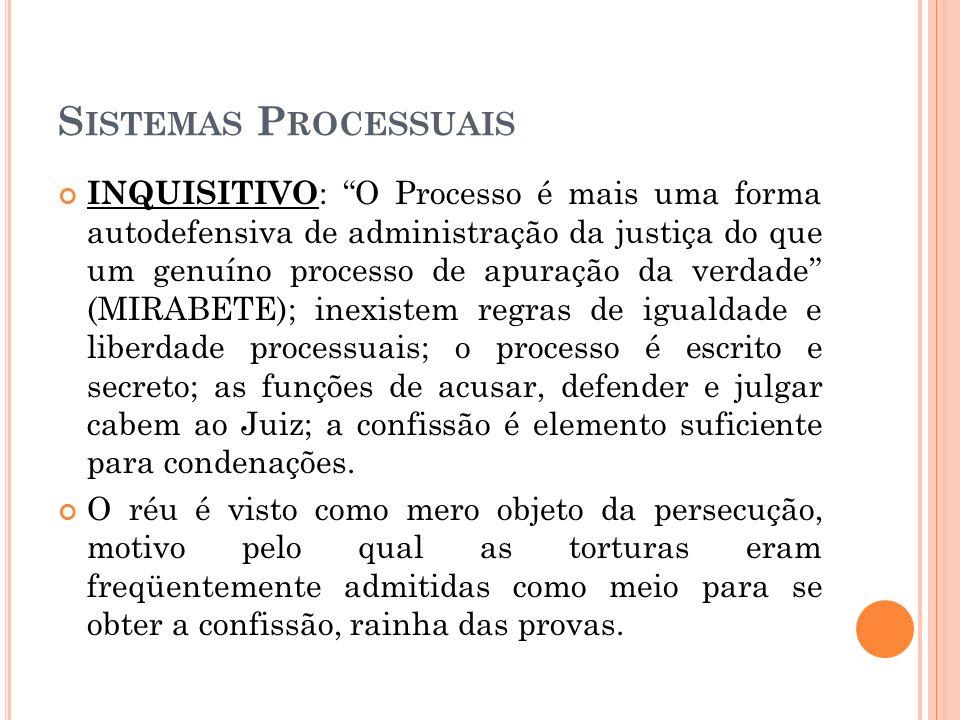 Sistemas Processuais