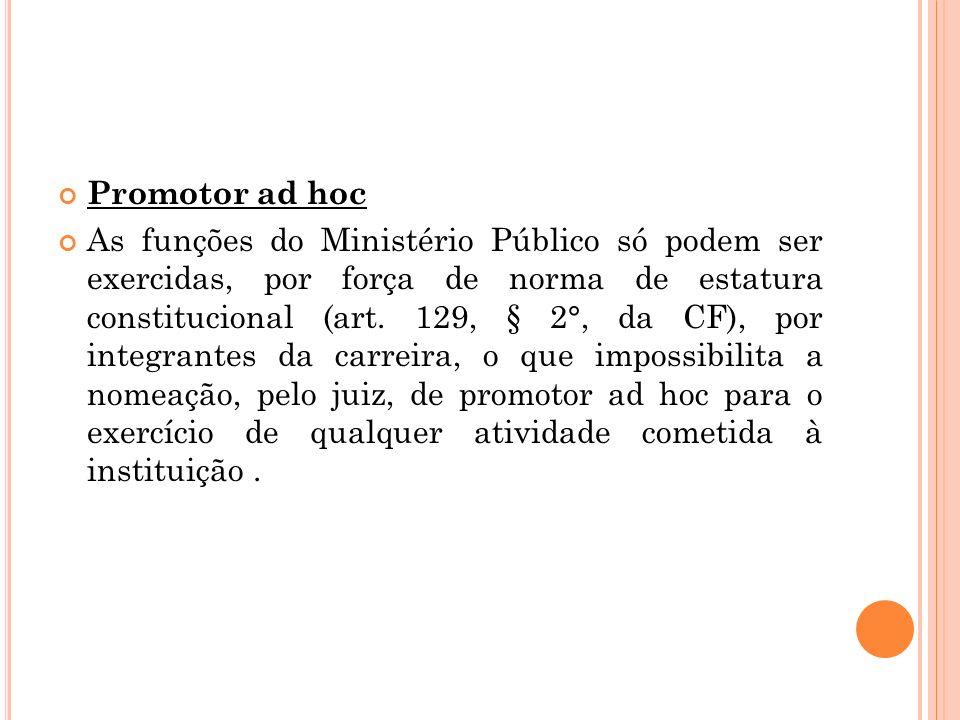 Promotor ad hoc