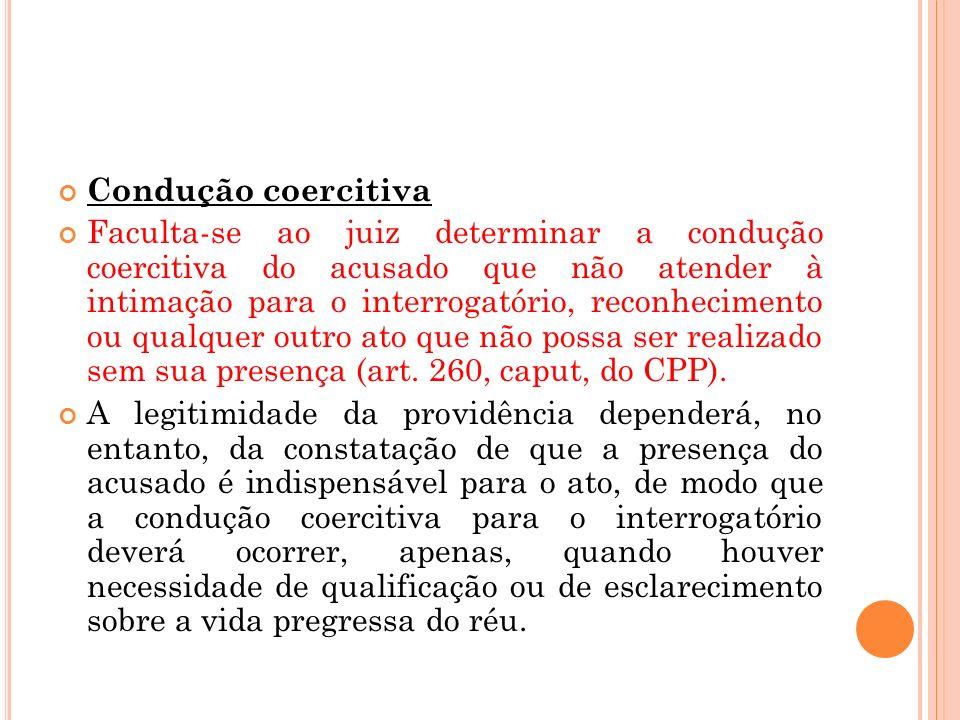 Condução coercitiva