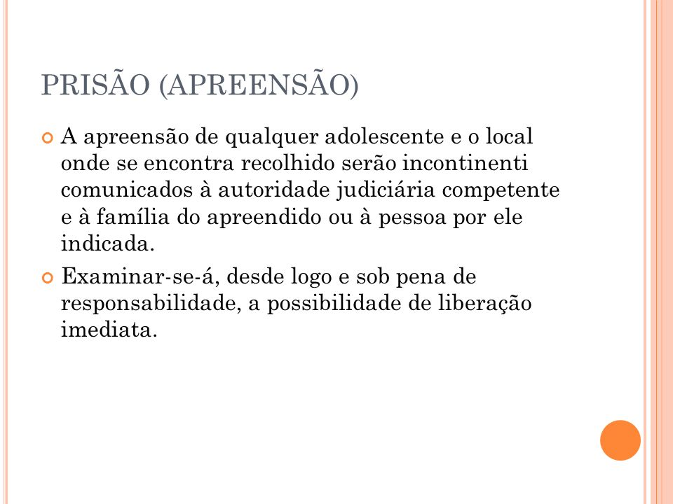 PRISÃO (APREENSÃO)