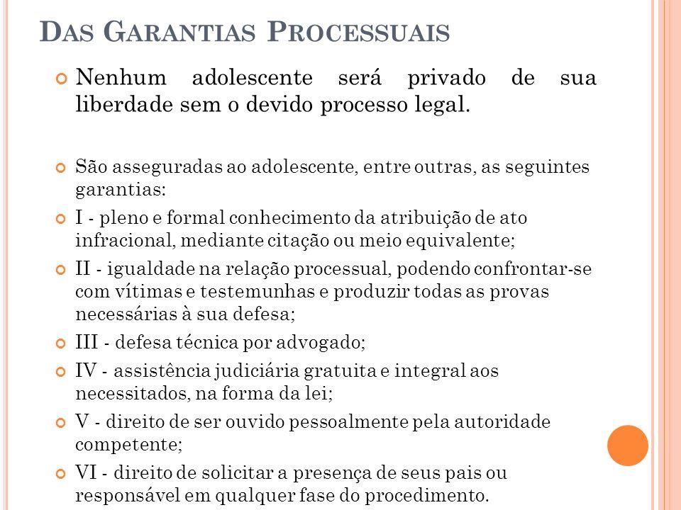 Das Garantias Processuais