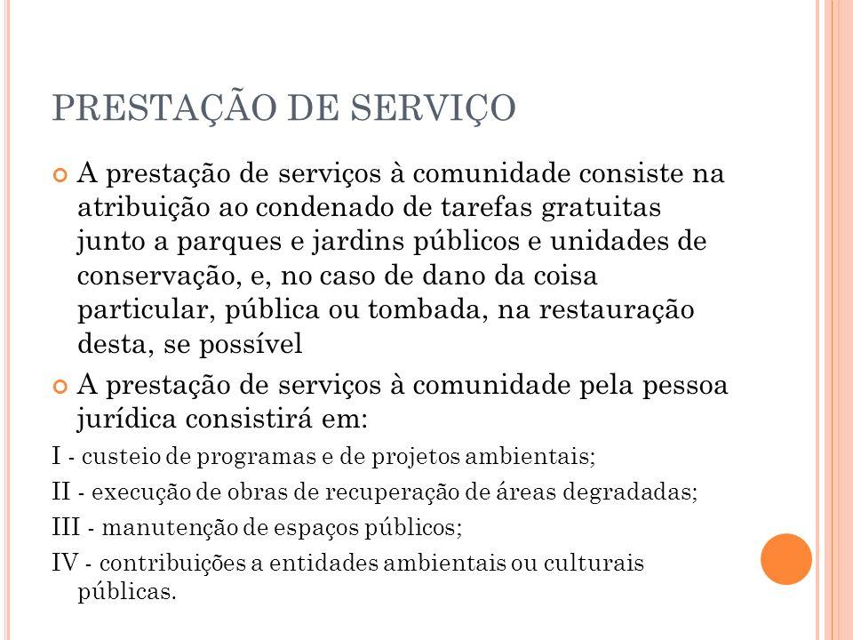 PRESTAÇÃO DE SERVIÇO