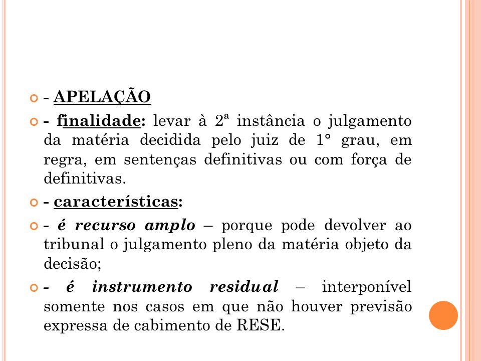 - APELAÇÃO
