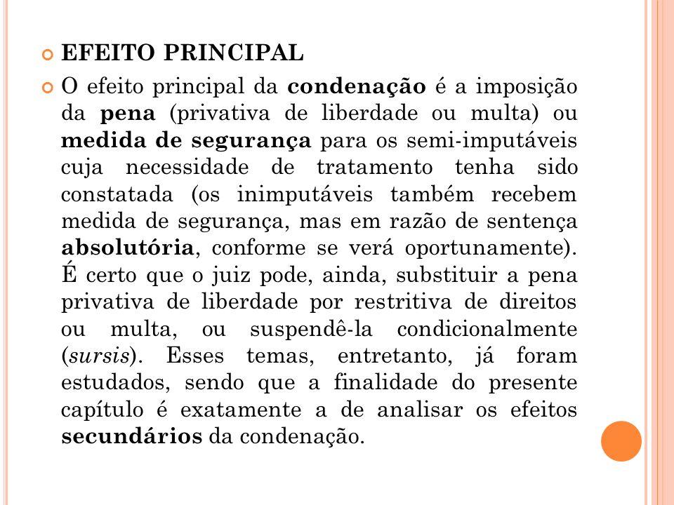 EFEITO PRINCIPAL