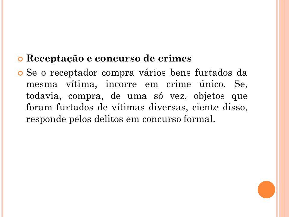 Receptação e concurso de crimes