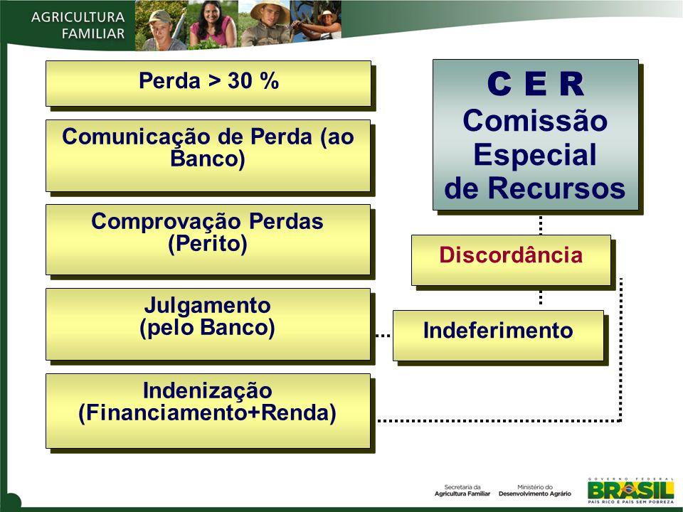 C E R Comissão Especial de Recursos