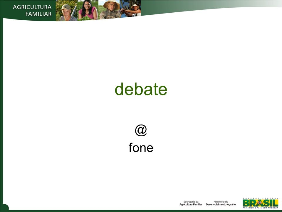 debate @ fone
