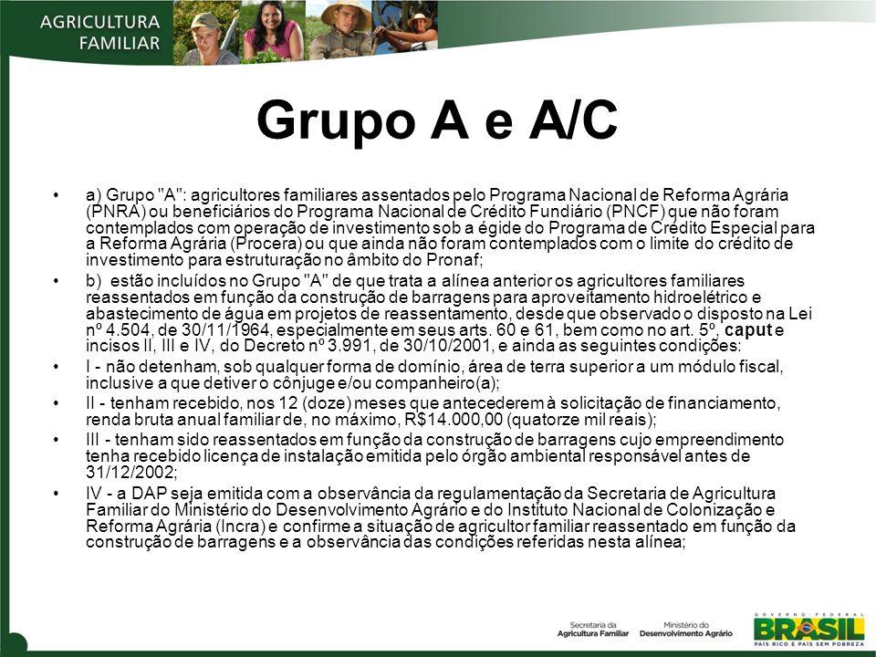 Grupo A e A/C