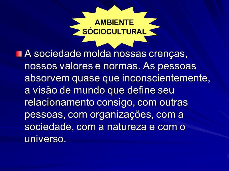 AMBIENTE SÓCIOCULTURAL.