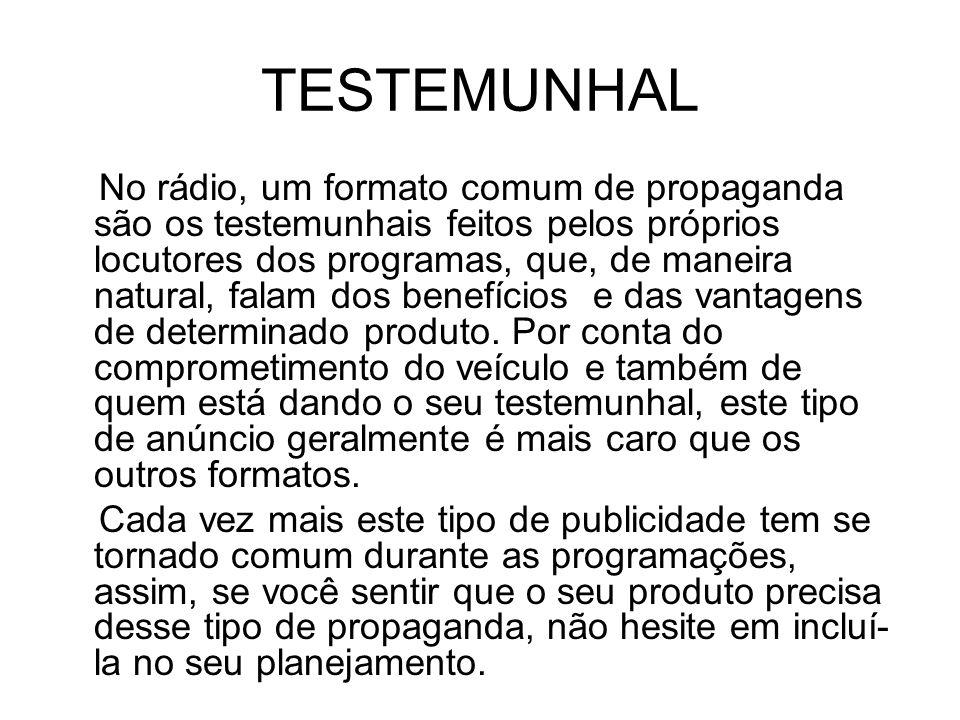 TESTEMUNHAL