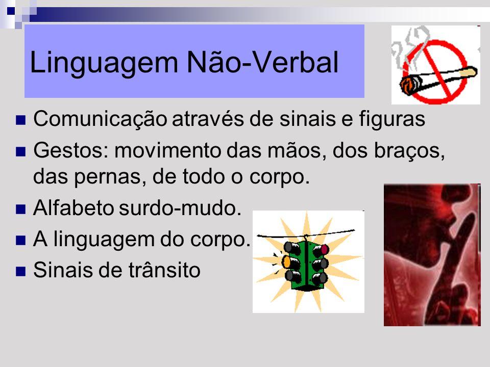 Linguagem Não-Verbal Comunicação através de sinais e figuras