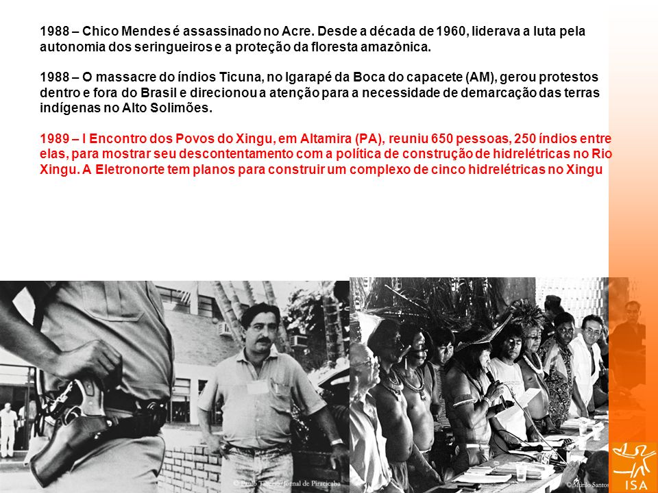 1988 – Chico Mendes é assassinado no Acre