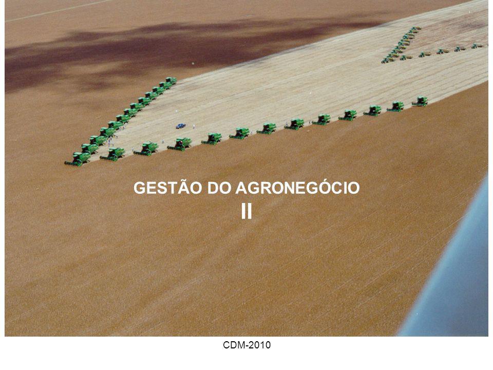 GESTÃO DO AGRONEGÓCIO II