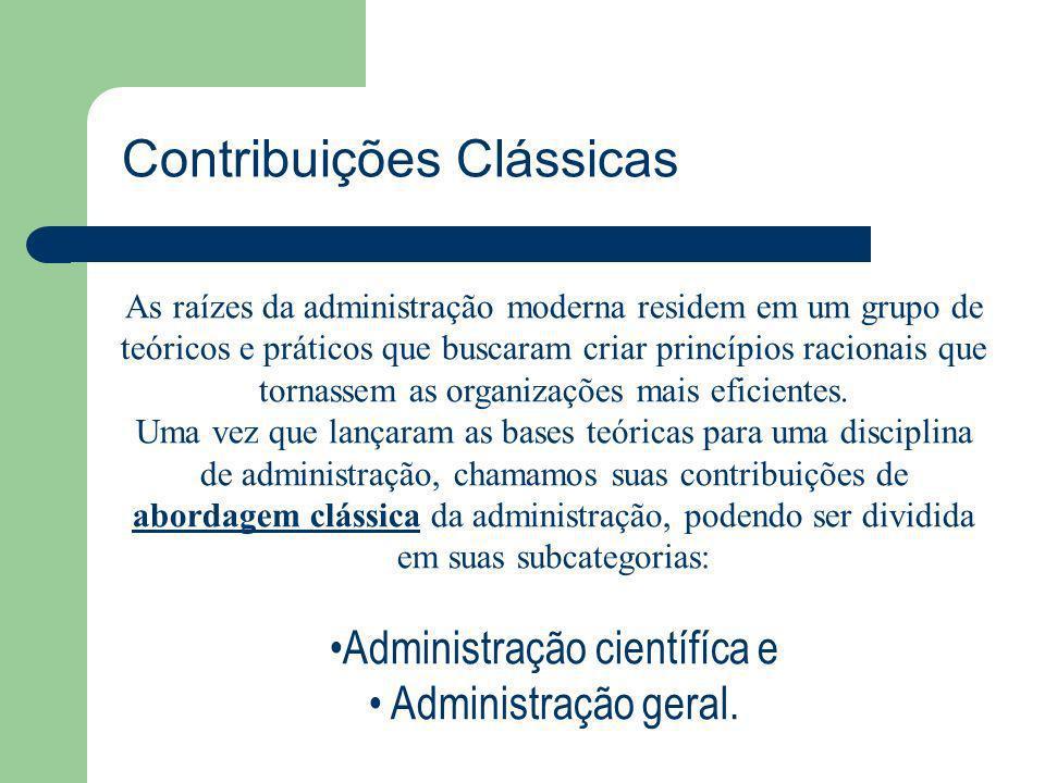 Administração científíca e