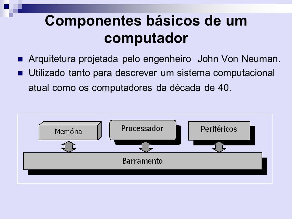 Componentes básicos de um computador