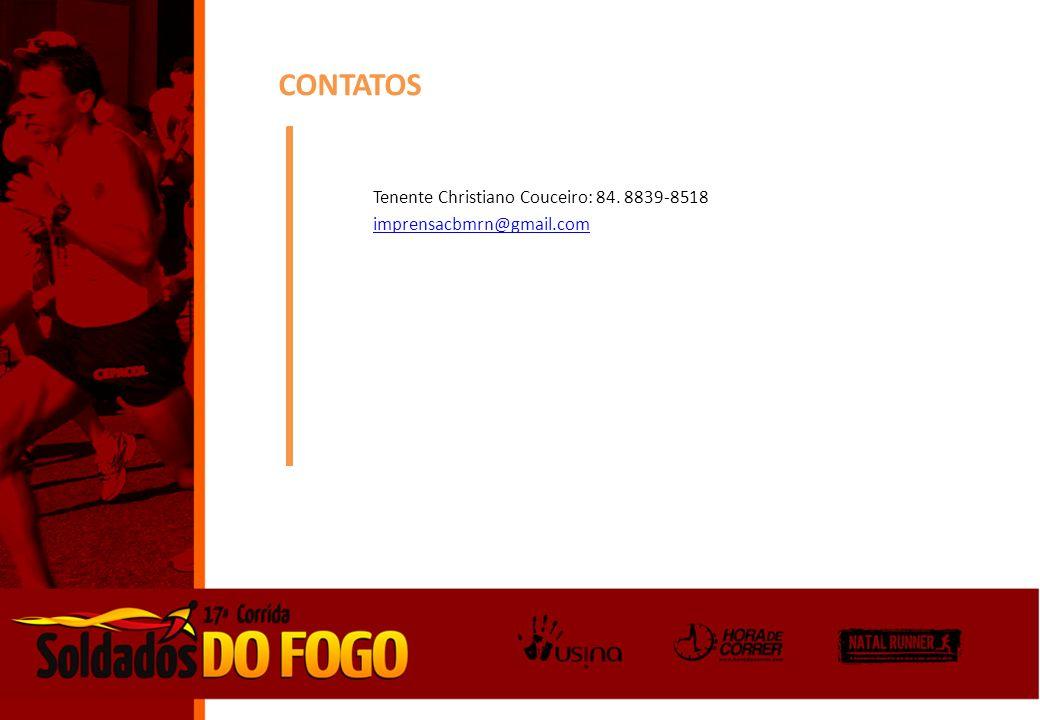 CONTATOS Tenente Christiano Couceiro: 84. 8839-8518