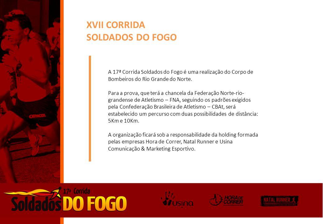 XVII CORRIDA SOLDADOS DO FOGO