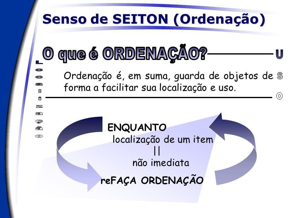 Senso de SEITON (Ordenação)