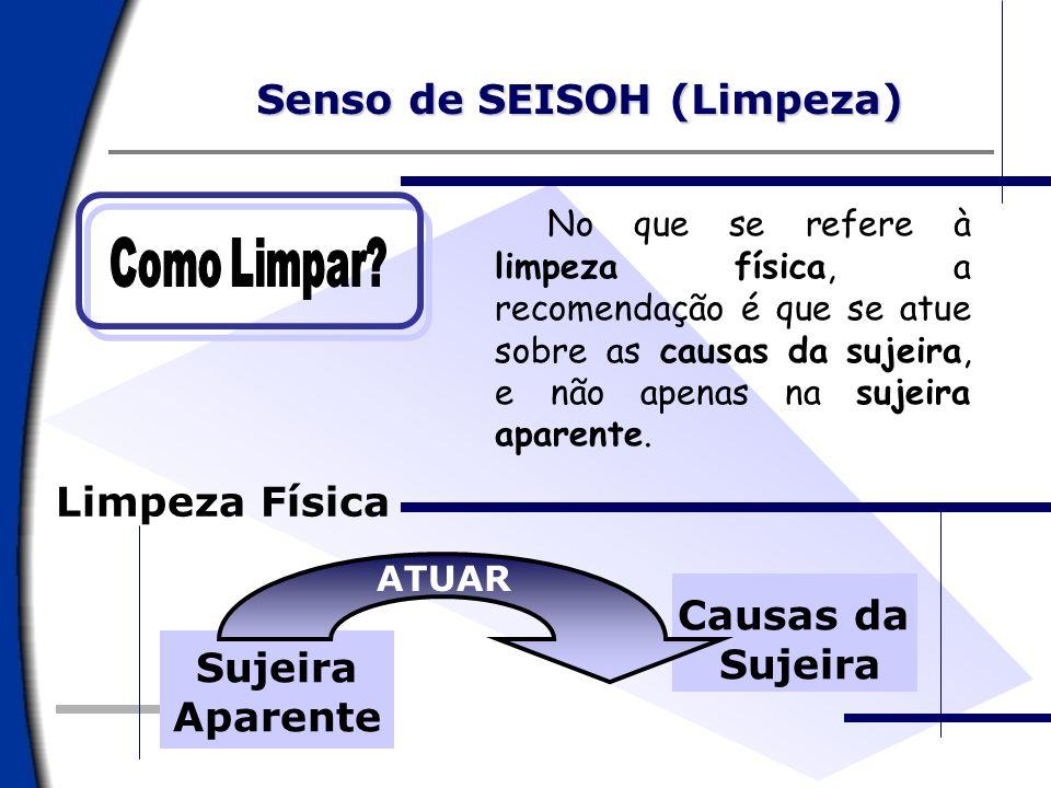 Senso de SEISOH (Limpeza)