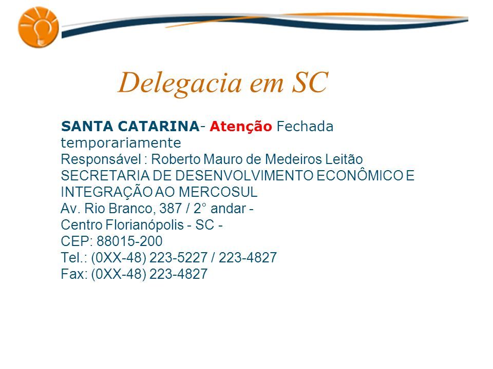 Delegacia em SC
