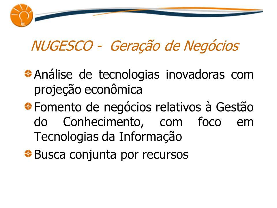 NUGESCO - Geração de Negócios