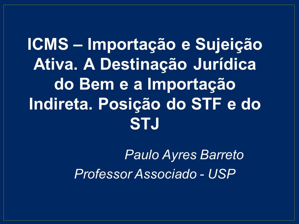 Paulo Ayres Barreto Professor Associado - USP