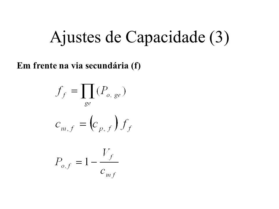 Ajustes de Capacidade (3)
