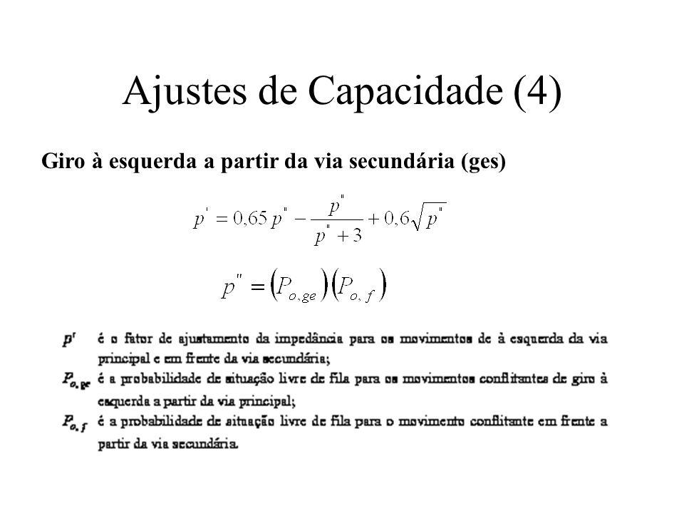 Ajustes de Capacidade (4)