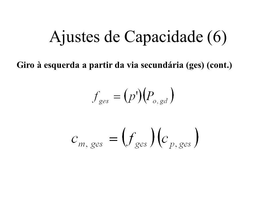 Ajustes de Capacidade (6)