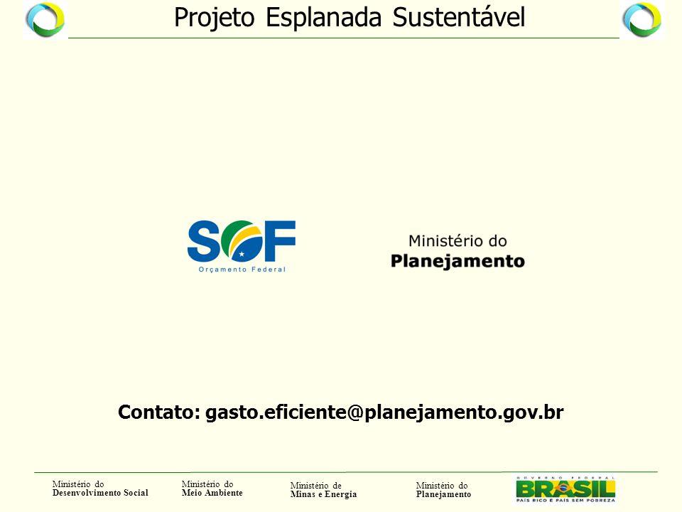 Contato: gasto.eficiente@planejamento.gov.br